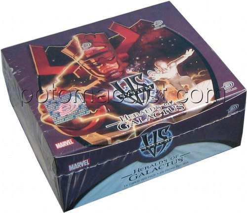 Marvel VS TCG: Heralds of Galactus Booster Box