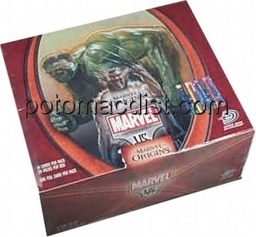 Marvel VS TCG: Origins Booster Box [1st Edition]