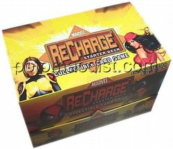 Marvel Recharge: Series 1 Starter Deck Box