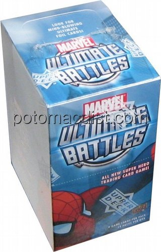 Marvel Ultimate Battles: Booster Box