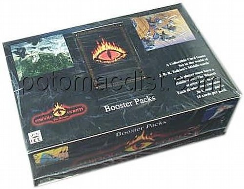 Middle Earth Collectible Card Game [CCG]: The Wizards Booster Box [Limited]