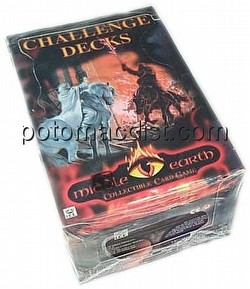 Middle Earth Collectible Card Game [CCG]: Challenge Deck Box