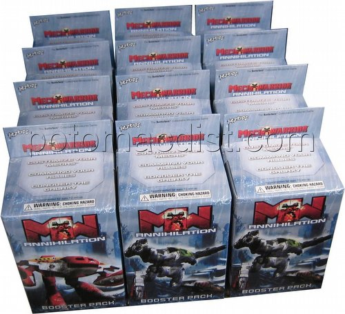 MechWarrior Collectible Miniatures Game [CMG]: Annihilation [12 Boosters]