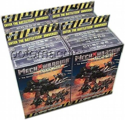 MechWarrior Collectible Miniatures Game [CMG]: Dark Age [4 Starters]