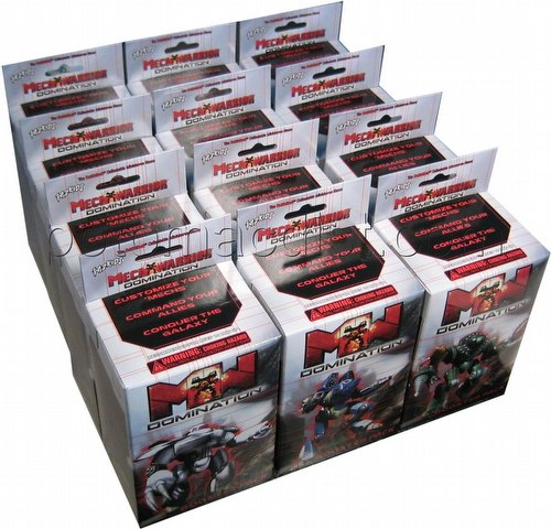 MechWarrior Collectible Miniatures Game [CMG]: Domination [12 boosters]