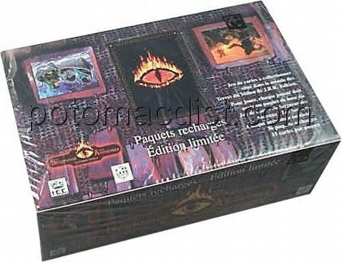 Middle Earth Collectible Card Game [CCG]: Dark Minions Booster Box [French]