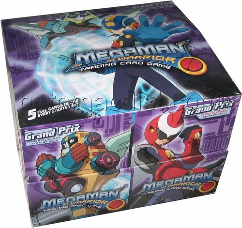 MegaMan Trading Card Game [TCG]: Grave Starter Deck Box
