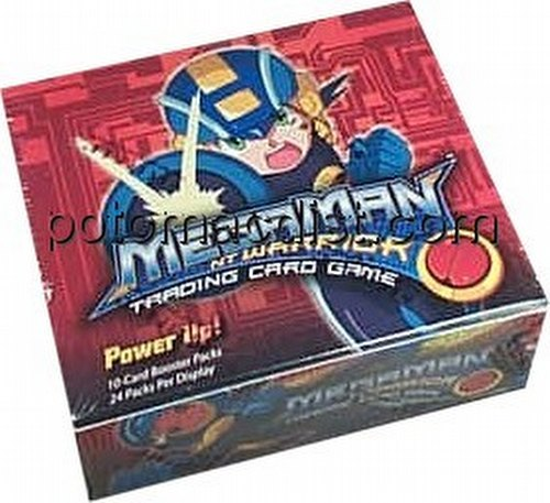 MegaMan Trading Card Game [TCG]: Power Up Booster Box