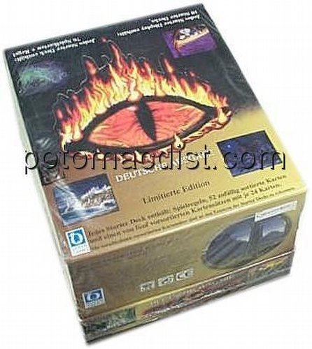 Middle Earth Collectible Card Game [CCG]: Lidless Eye Starter Deck Box [German/Deutsche Ausgabe]