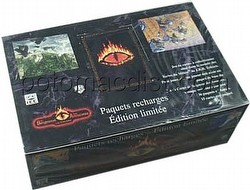 Middle Earth CCG: The Wizards/Les Sorciers Booster Box [Limited/French]