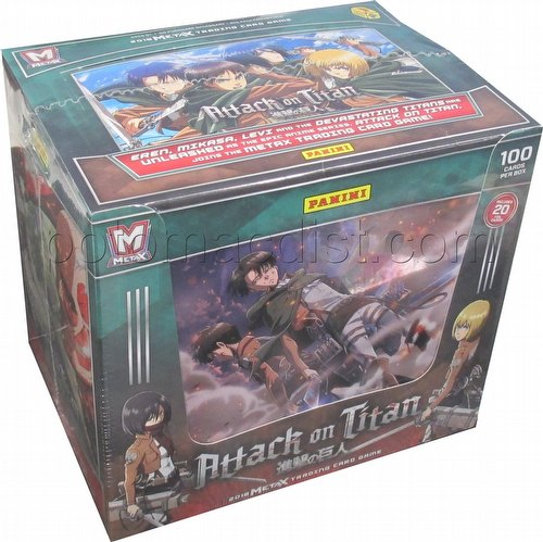 Meta X Attack On Titan Starter Deck Box 124 Potomac Distribution