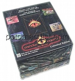 Middle Earth Collectible Card Game [CCG]: The Wizards Starter Deck Box [Unlimited]