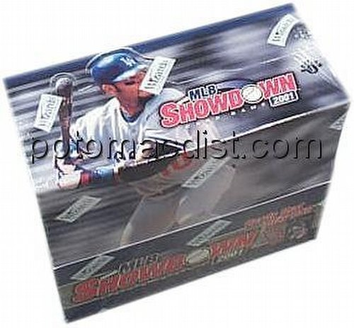 MLB Showdown Sport Card Game: 2001 [01] Booster Box [1st Edition]