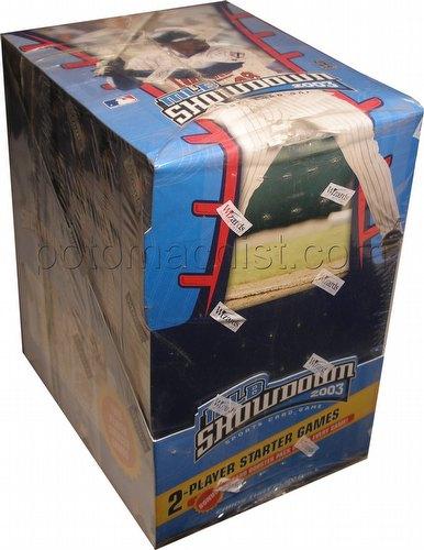 MLB Showdown Sport Card Game: 2003 [03] 2-Player Starter Deck Box