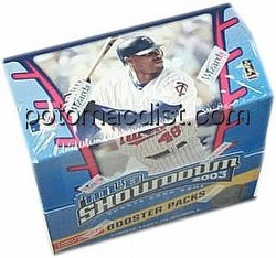 MLB Showdown Sport Card Game: 2003 [03] Booster Box