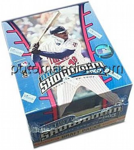 MLB Showdown Sport Card Game: 2003 [03] Draft Pack Box