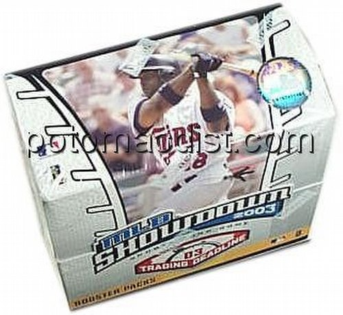 MLB Showdown Sport Card Game: 2003 [03] Trading Deadline Booster Box