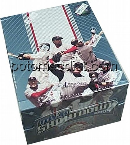 MLB Showdown Sport Card Game: 2004 [04] Draft Pack Box