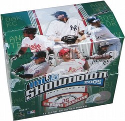MLB Showdown Sport Card Game: 2005 [05] Trading Deadline Booster Box