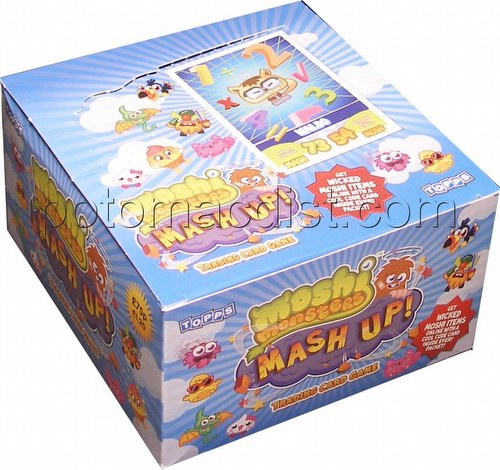 Moshi Monsters Mash Up Trading Card Game Box