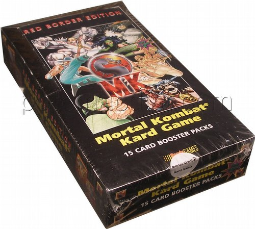 Mortal Kombat Kard Game: Booster Box