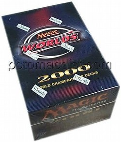 Magic the Gathering TCG: World Championship 2000 [00] Decks Box