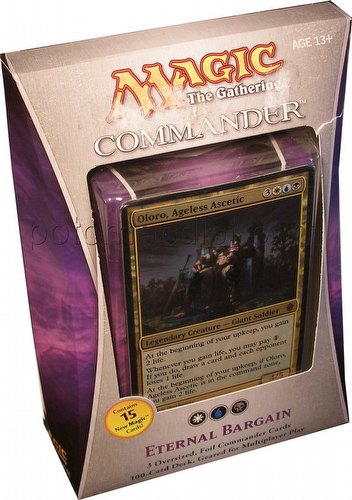 Magic the Gathering TCG: 2013 Commander Eternal Bargain Deck
