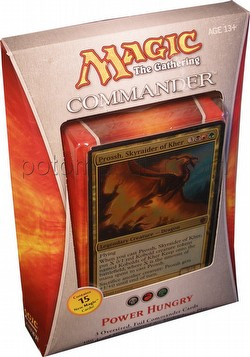 Magic the Gathering TCG: 2013 Commander Power Hungry Deck