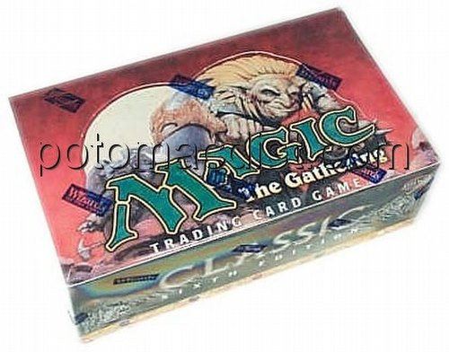 Magic the Gathering TCG: 6th Edition Booster Box