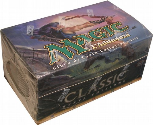 Magic the Gathering TCG: 6th Edition Tournament Pack Starter Deck Box [Italian]