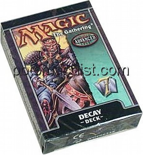 Magic the Gathering TCG: 7th Edition Decay Starter Deck