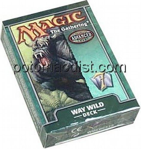 Magic the Gathering TCG: 7th Edition Way Wild Starter Deck