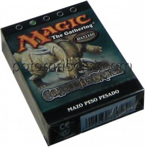 Magic the Gathering TCG: 8th Heavy Hitters (Peso Pesado) Starter Deck [Spanish]