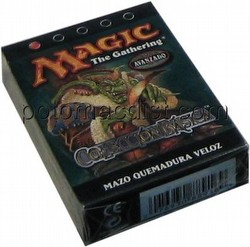 Magic the Gathering TCG: 8th Edition Speed Scorch (Quemadura Veloz) Starter Deck [Spanish]