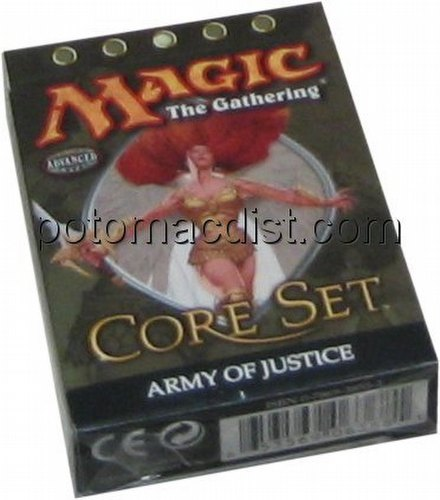 Magic the Gathering TCG: 9th Edition Army of Justice Theme Starter Deck
