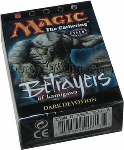 Magic the Gathering TCG: Betrayers of Kamigawa Dark Devotion Theme Starter Deck