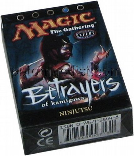 Magic the Gathering TCG: Betrayers of Kamigawa Ninjutsu Theme Starter Deck