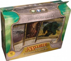 Magic the Gathering TCG: Commander Devour For Power Deck