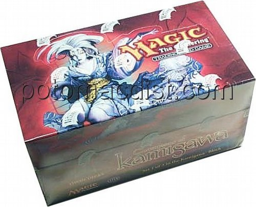Magic the Gathering TCG: Champions of Kamigawa Tournament Deck Box