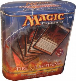 Magic the Gathering TCG: Fire & Lightning Premium Deck