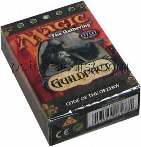 Magic the Gathering TCG: Guildpact Code of the Orzhov Starter Deck
