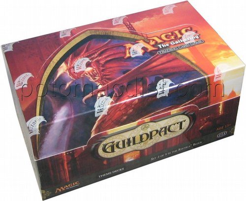Magic the Gathering TCG: Guildpact Theme Starter Deck Box