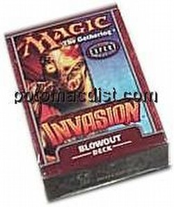 Magic the Gathering TCG: Invasion Blowout Starter Deck