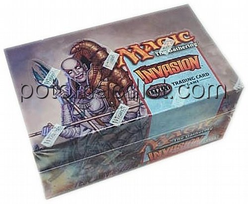 Magic the Gathering TCG: Invasion Tournment Pack Starter Deck Box