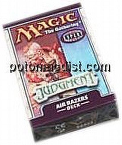 Magic the Gathering TCG: Judgment Air Razers Starter Deck