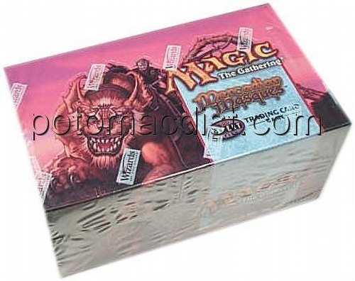 Magic the Gathering TCG: Mercadian Masques Theme Starter Deck Box