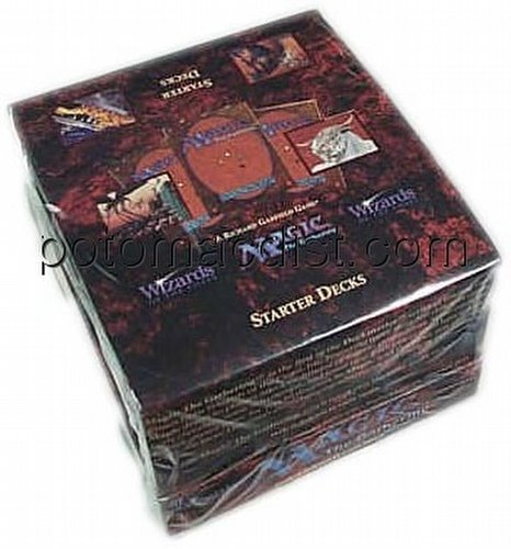 Magic the Gathering TCG: 4th Edition Starter Deck Box