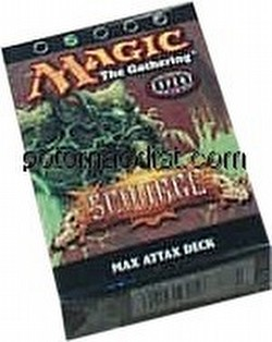 Magic the Gathering TCG: Scourge Max Attax Starter Deck