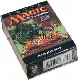 Magic the Gathering TCG: Scourge Max Attax (Max Atax) Starter Deck [Spanish]