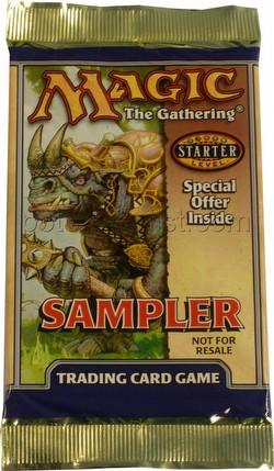 Magic the Gathering TCG: Starter Game 2000 Sampler [10 pack lot]
